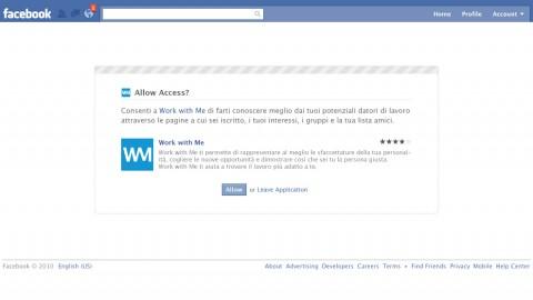 Facebook-App-Authorization-Request